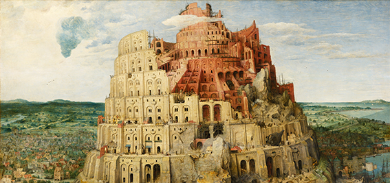 180311 Pieter Bruegel the Elder The Tower of Babel Vienna Google Art Project edited